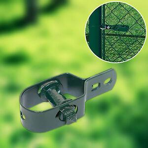 10 er-Set Drahtspanner für Spanndraht Maschendrahtzaun Zaun grün Zaunspanner