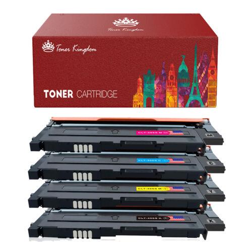 2 PK Black Toner for Samsung CLT-K406S K406S 406 Xpress C410W C460FW CLX-3305FW