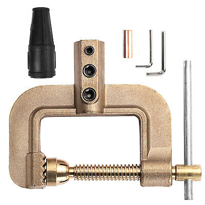 G Ground Welding Earth Clamp 0.75kg Full Cooper 400a Solid Brass Earth Clamp