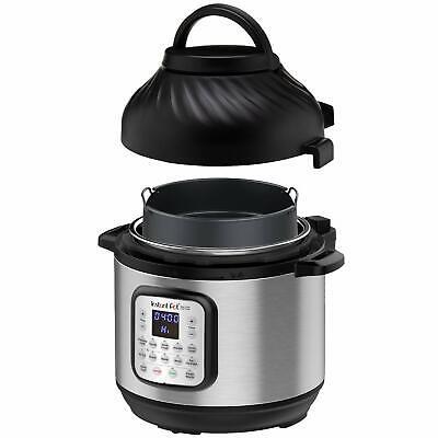 Instant Pot Duo Crisp Pressure Cooker 11 In 1 8 Qt With Air Fryer Roast Bake ...