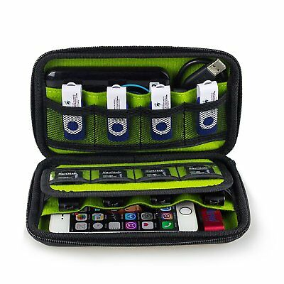 BEST Usb Flash Hard Drive Organizer Bag Storage Case SD Card Holder (Best Hard Drive Case)