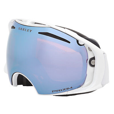 Oakley Airbrake Factory Pilot Whiteout Snow Goggles White / Prizm Sapphire Blue