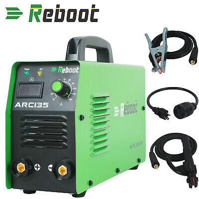 Arc Welder Dual Volt 110v-220v Stick 120a Mma Inverter Welding Machine Reboot