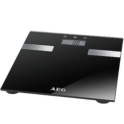 AEG PW 5644 7in1 Personenwaage Körperwaage Gewichtswaage Analyse-Waage bis 180kg