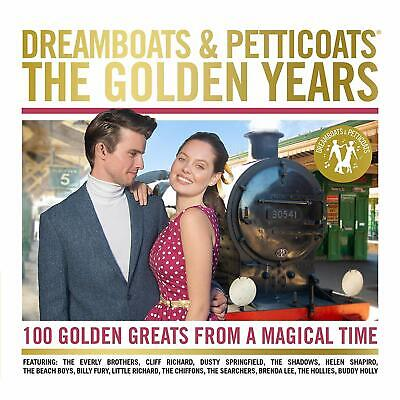 DREAMBOATS AND PETTICOATS  THE GOLDEN YEARS CD BRAND NEW SEALED