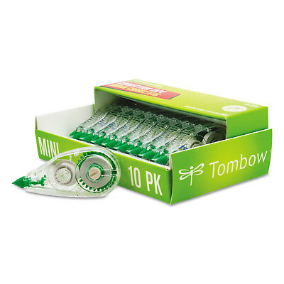 Tombow Mono Mini Correction Tape 16 X 315 Non-refillable 10pack 68722