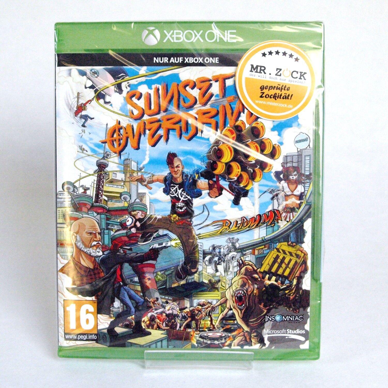 Sunset Overdrive - Day One Edition - Xbox One - Deutsch - Neu Ovp
