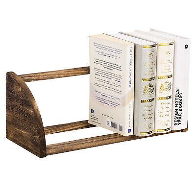 Desktop Organizer Office Storage Rack Bookshelf Wood Desk Organizer Display