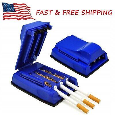 Manual Triple Tobacco Cigarette Rolling Tube Injector Machine Maker Roller USA