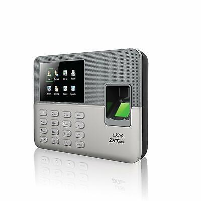 Biometric Fingerprint Time Attendance Clock Employee Checking-in Recorder With B