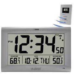 513-1311OT La Crosse Technology Large Atomic Digital Wall Clock - Refurbished