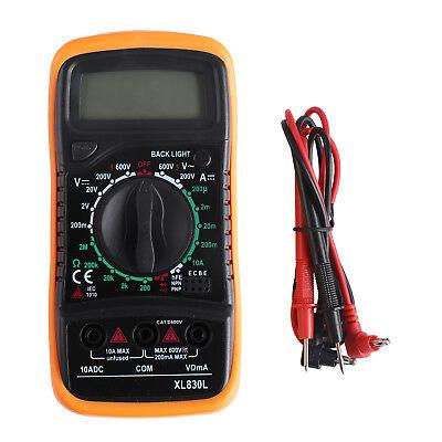 Neue Digital LCD Multimeter, XL830L Voltmeter DC AC Amperemeter Messgerät Tester (Ampere-meter)