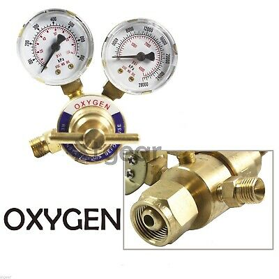 Welding Gas Welder Oxygen Regulator Oxy For Victor Torch Cutting Kits Cga 540