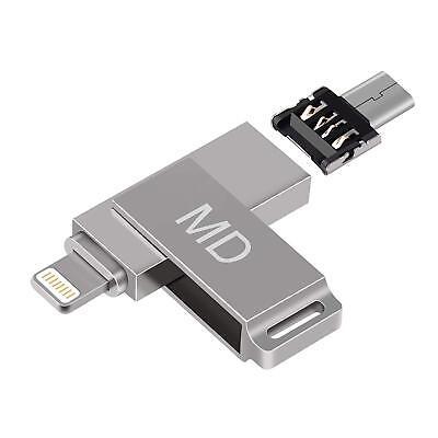 iPhone USB Flash Drive 64 gb,Memory Stick Flash Drives 3.0,OTG iOS iPhone u Disk
