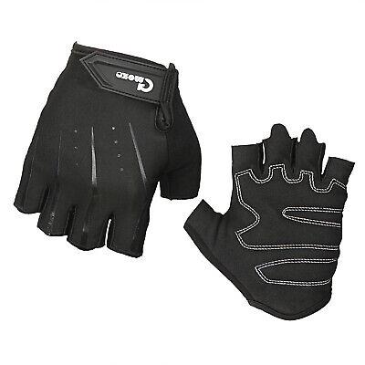Black Gel Cycling Gloves for Racing Bike Mens Best mtb Gloves Lightweight