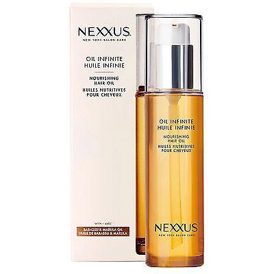 Nexxus Oil Infinite Nourishing Hair Oil Treatment 3.38 Fl Oz NEW!