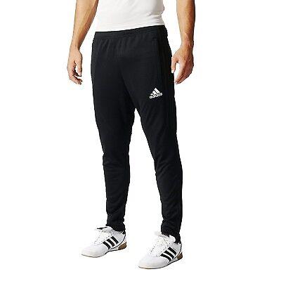 Adidas Bk0348 Mens Tiro 17 Training Pants Athletic Soccer Black Slim Joggers