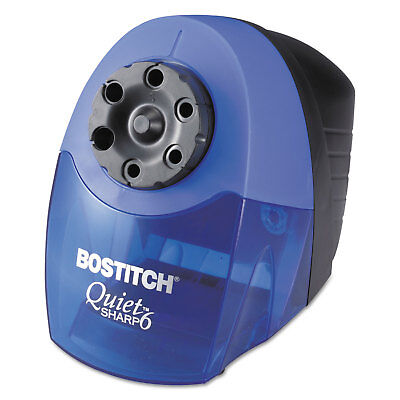 Bostitch QuietSharp 6 Classroom Electric Pencil Sharpener Blue (Bostitch Quietsharp 6 Classroom Electric Pencil Sharpener Blue)