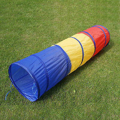 Kids Play Tunnel Toy 6ft Outdoor Indoor Game Child Fun Pop Up Tube Pet Dog Toys