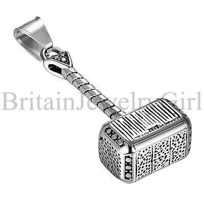 """22"""" Charm Stainless Steel Vintage Thor"""