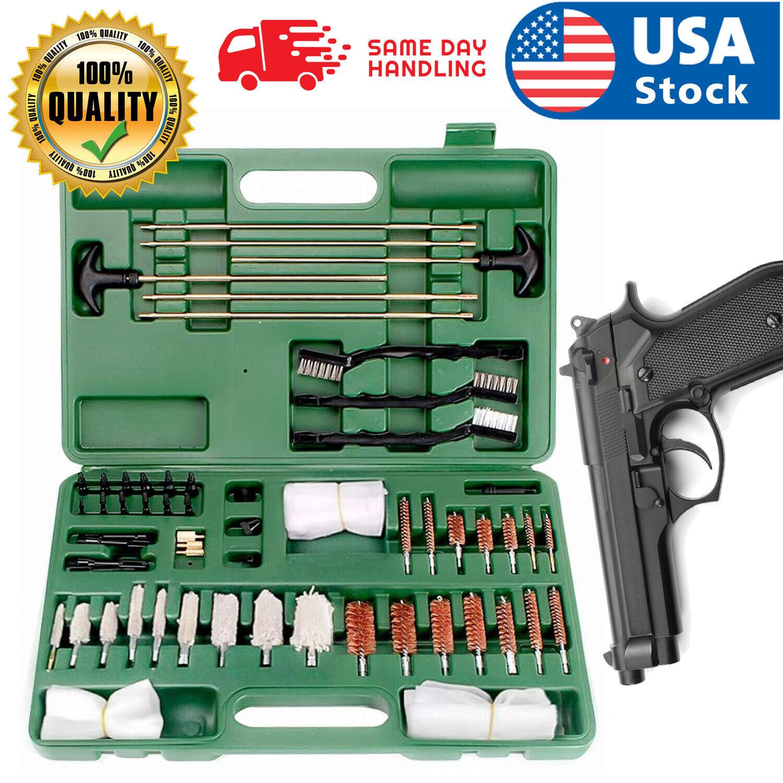 Universal Gun Cleaning Kit Hunting Handgun Shot Gun Cleaning Kit for All Guns Cleaning Supplies