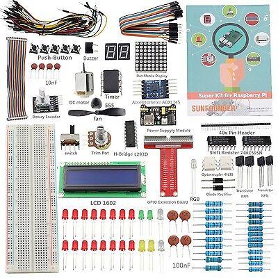 SunFounder Project Super Starter Kit for Raspberry Pi 3 2 &