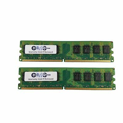Gx280 Small Form (4GB (2x2GB) RAM Memory Compatible with Dell OptiPlex GX280 Small Form Factor A90)