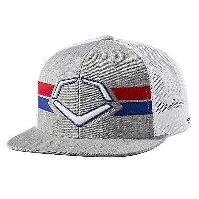 EvoShield Sentry Snapback, Heather Grey/White, One Size Adult Hat
