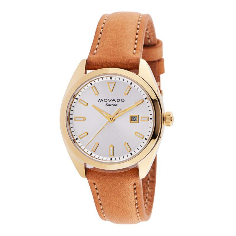 Movado-3650036-Women-Heritage-Datron-Gold-Tone-Quartz-Watch