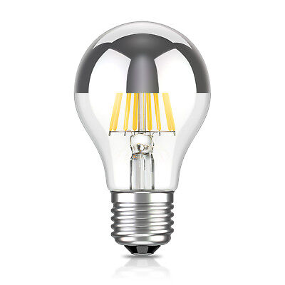 Lampe Filament A60 6W =55W warm-weiß 710lm A++ für innen und (Kopf Spiegel)