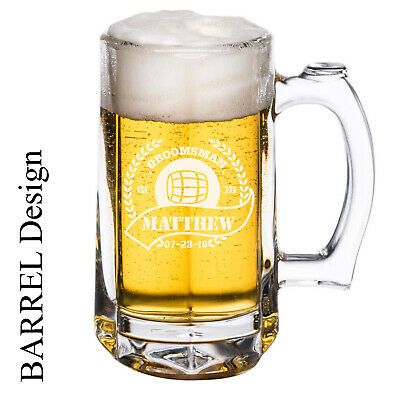 Personalized Beer (Personalized Beer Mug 12oz)