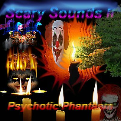 Scary Sounds II - Psychotic Phantasm (Halloween Horror Sound Effects - 2013) - Halloween Horror Sounds Effects