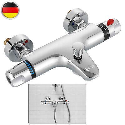 Badewannenarmatur Mischbatterie Thermostat Wannenbatterie Aufputz Dusche Für Bad