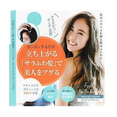 Fujiko Ponpon Powder Natural Volume Hair Dry Shampoo Cushion from Japan