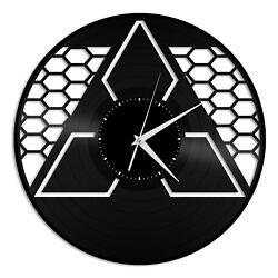 Mitsubishi Vinyl Wall Clock Unique Gift for Car Lovers Bedroom Home Decor