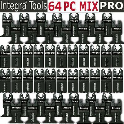 Integra 64pc Oscillating Saw Blade For Fein Ridgid Ryobi Bosch Craftsman Dewalt