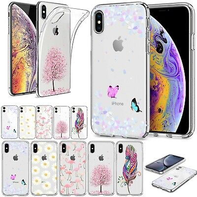 For iPhone 11 Pro Max XR X/XS MAX Ultrathin TPU Silicone Case Pretty Phone Cover