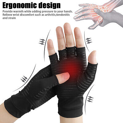 Carpal Tunnel - Copper Compression Gloves Arthritis Fit Carpal Tunnel Hand Wrist Brace Support