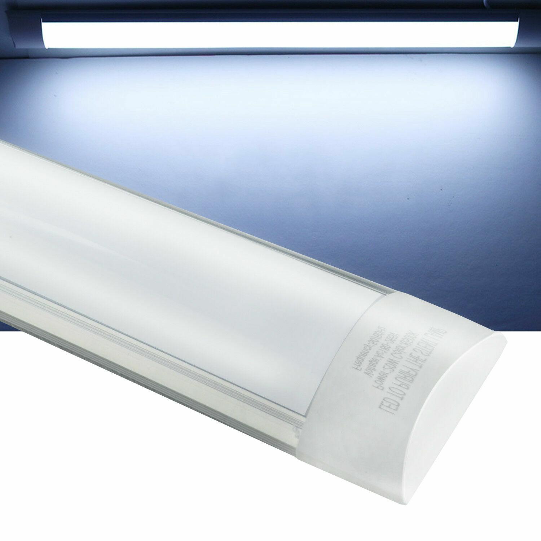 5 Pack 4 Ft 44W Batten Light Shop Light Utility LED Cool Whi
