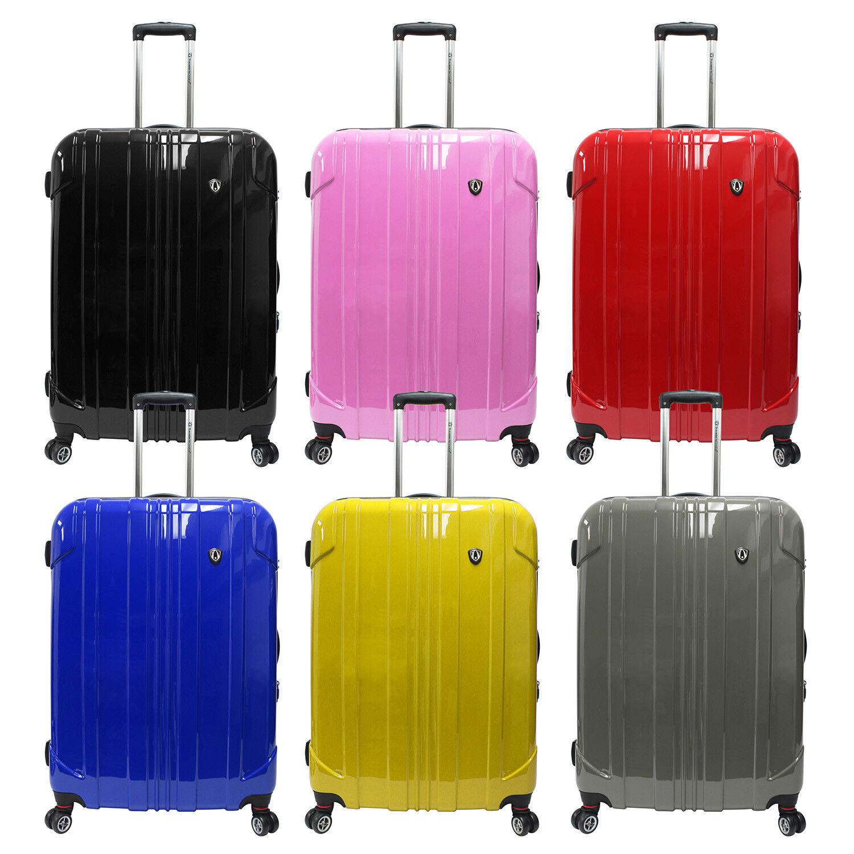 """Sedona 29"""" Large Polycarbonate Hardside Luggage Expandable S"""
