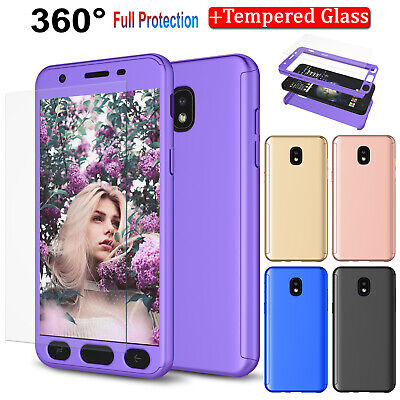 For Samsung Galaxy J7 Crown/Star/Refine J7 2018 Case Cover with Screen Protector