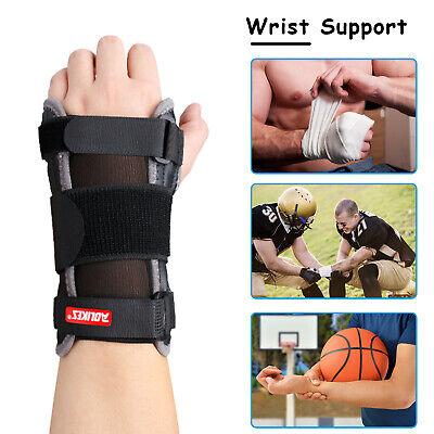 Right / Left Wrist Hand Brace Support Carpal Tunnel Sprain Arthritis Gym Sports