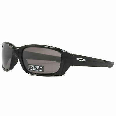 Oakley Straighlink POLARIZED Sunglasses OO9331-07 Polished Black W/ PRIZM Daily