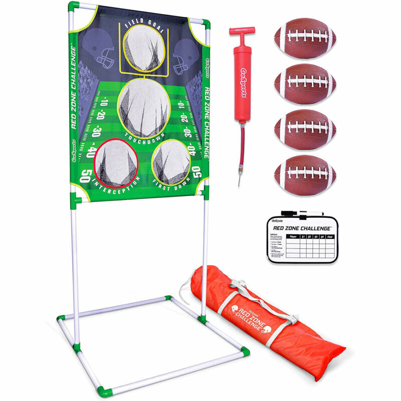 GoSports Red Zone Challenge 5 X 7 Foot Football Toss Outdoor Backyard Lawn Game