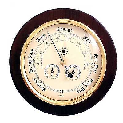 - Barometer with Thermometer and Hygrometer on 9