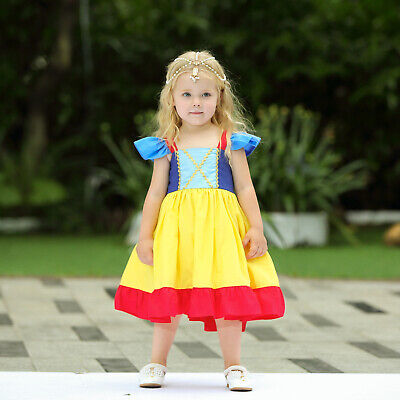 te Princess Costume Fancy Halloween Party Dress Cosplay ZG9 (Snow White Baby Halloween Kostüm)