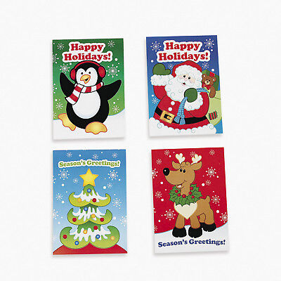 12 Holiday CHRISTMAS Party Favors FUN & GAME Activity Books - Christmas Party Game