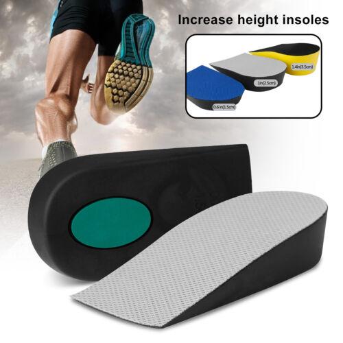 Men Shoe Lift Insole Air Cushion Heel Insert Increase Taller Height 1.5CM~3.5CM