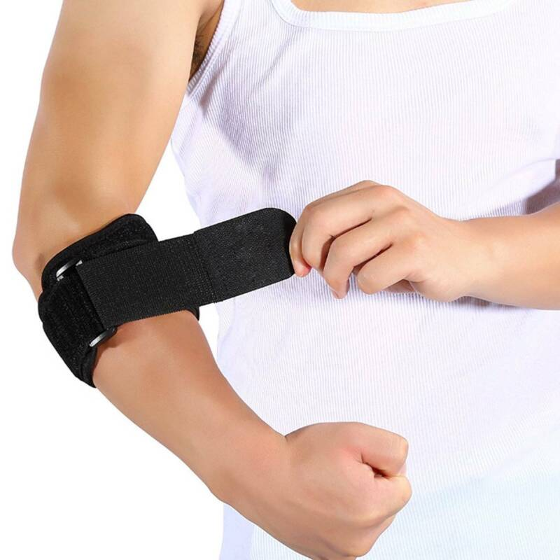 Tennis Elbow Brace Compression Pad Support Strap Tendonitis