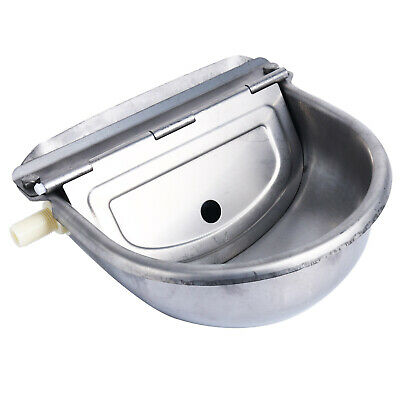 Automatic Waterer Bowl Farm Grade Stock Waterer Horse Cattle Dog Stainless Steel